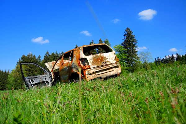 Autoversicherung Totalschaden Brand
