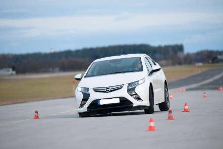 ADAC Test Opel Ampera