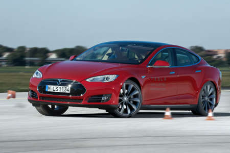 Tesla Model S im ADAC EcoTest 2013