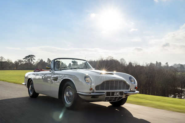 Aston Martin Heritage EV Concept 2018