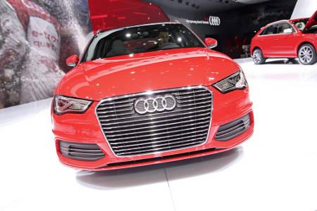 Audi A3 e-tron Genfer Autosalon 2013