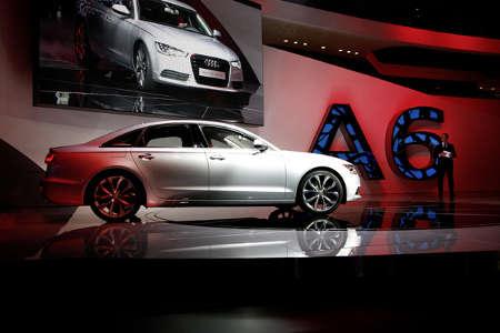Audi A6 hybrid C7 NAIAS 2011