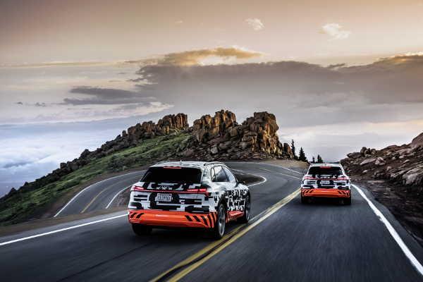 Audi e-tron quattro Pikes Peak