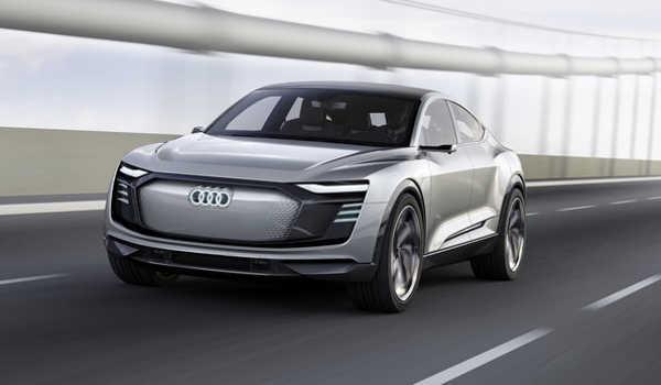 Audi e-tron Sportback concept Auto Shanghai 2017