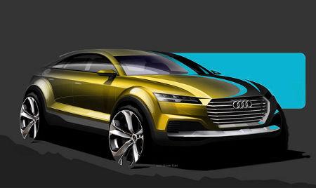 Audi Q4 Concept Showcar Peking 2014