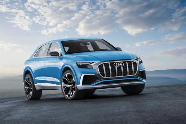 Audi Q8 concept NAIAS Detroit 2017