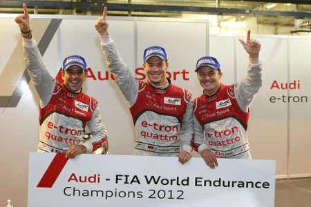 Audi R18 e-tron WEC Shanghai 2012