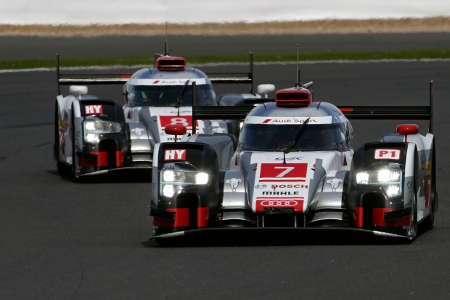 Audi WEC Silverstone 2015
