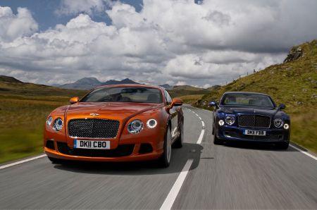 Bentley Continental GT & Bentley Mulsanne