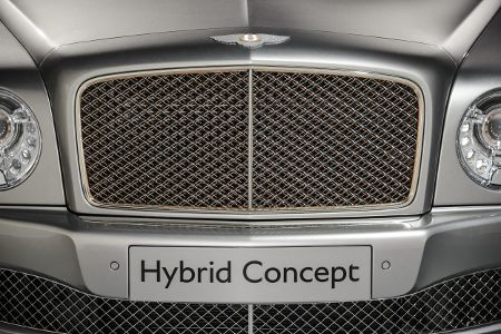 Bentley Hybrid Concept Peking 2014