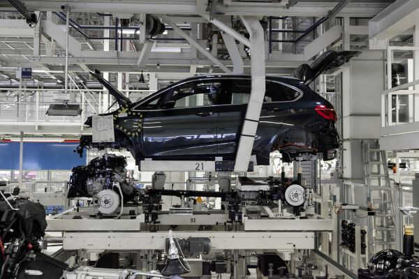 BMW 2er Active Tourer Produktion Leipzig