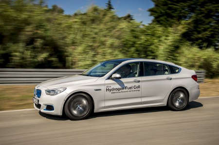 BMW 5er GT Hydrogen Fuel Cell 2015