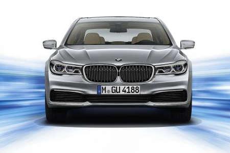BMW 740e Plug-in-Hybrid G11 2015