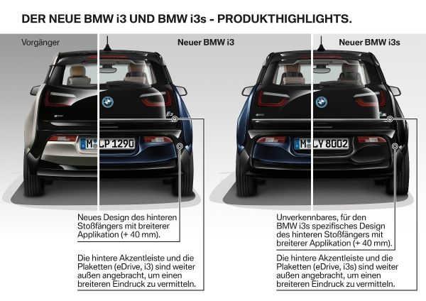 BMW i3 Facelift 2017