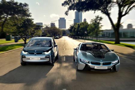 BMW i3 & BMW i8
