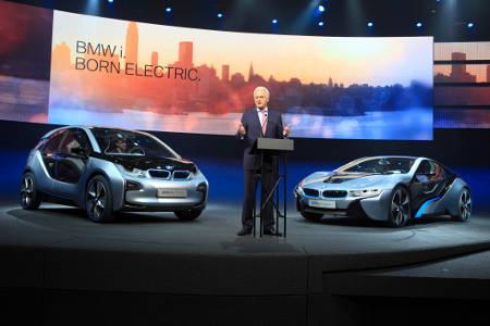 BMW i auf der IAA 2011