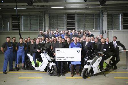 BMW C evolution Serienstart