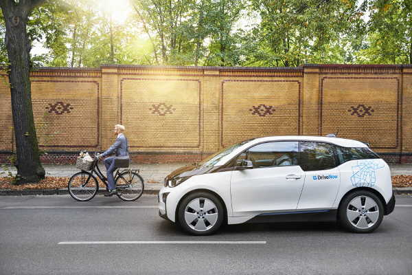 DriveNow BMW i3 Elektroauto