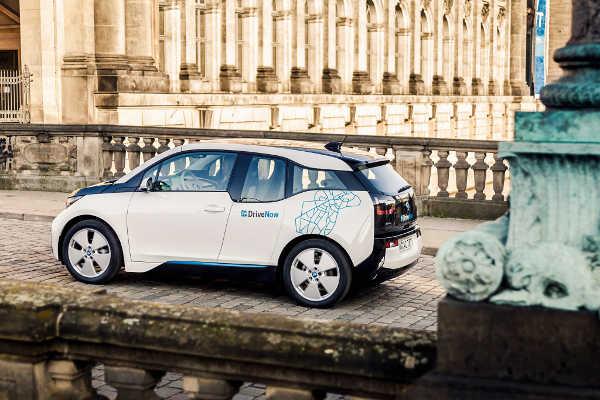 DriveNow BMW i3 Elektroautos