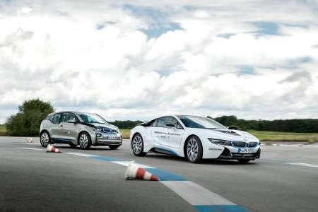 BMW eDrive Experience 2015 BMW i3 BMW i8
