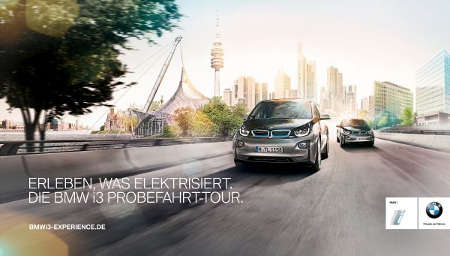 bmw i3 probefahrt tour m nchner laden zum stromer testen green motors de. Black Bedroom Furniture Sets. Home Design Ideas