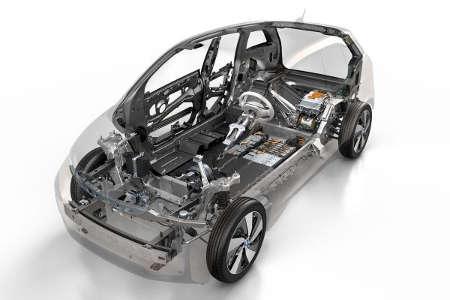 BMW i3 Skelett