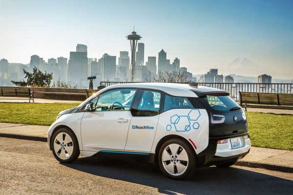 BMW Carsharing ReachNow Seattle