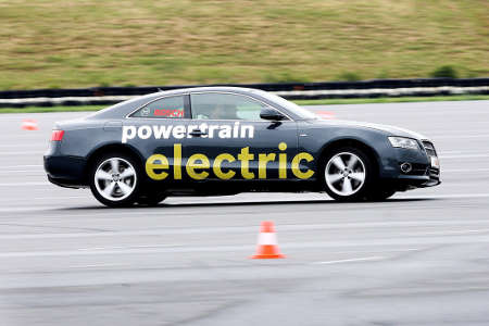 Bosch Audi A5 powertrain electric
