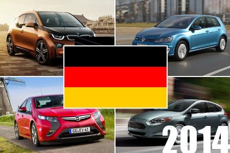 Elektroauto BRD Charts