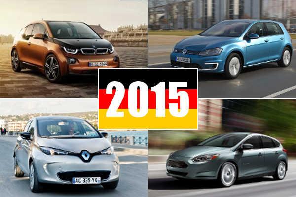 Elektroauto Deutschland Charts