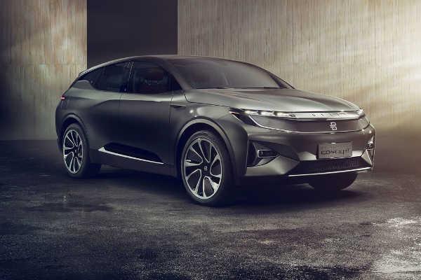 Byton Elektroauto-Prototyp CES Las Vegas 2018