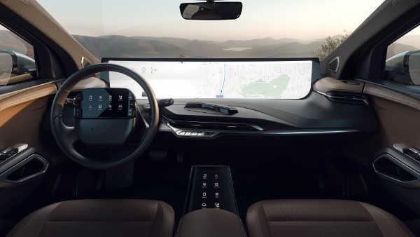 Byton Serien-Cockpit SED