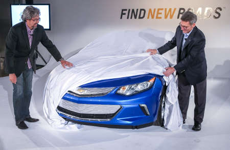 Chevrolet Volt II 2016
