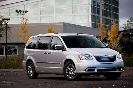 chrysler town county 7 sitzer van als plug in hybrid. Black Bedroom Furniture Sets. Home Design Ideas