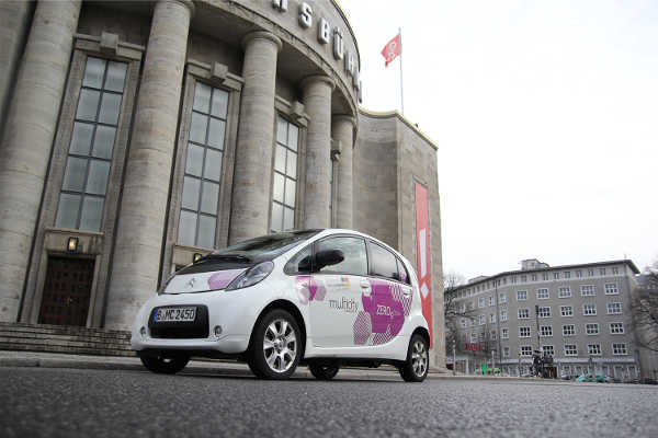 Citroen Multicity Berlin Carsharing