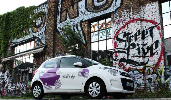 Multicity Berlin Carsharing Citroen C1