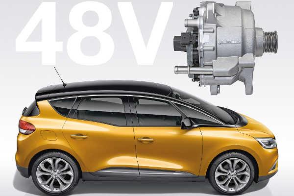 Continental 48 Volt Hybrid