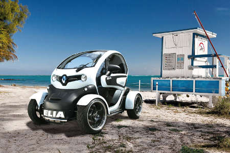 neue felgen und edelstahl elia tuning pimpt renault twizy. Black Bedroom Furniture Sets. Home Design Ideas