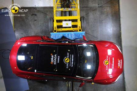 Euro NCAP Crashtest Tesla Model S 2014
