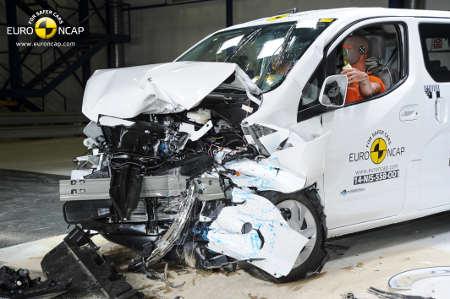 Nissan e-NV200 EuroNCAP Crashtest
