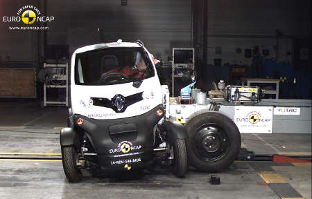 Renault Twizy Euro NCAP Crashtest 2014