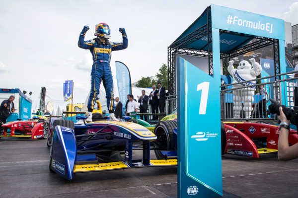 Formel E ePrix Berlin 2016 Sebastien Buemi e.dams Renault