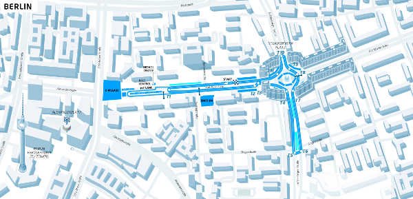 ePrix Berlin Track Layout 2016