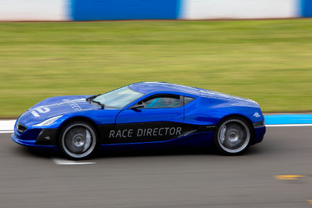 Rimac Concept One Formel E Safety Car
