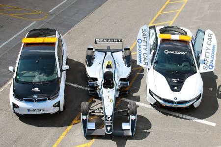 Formel E BMW i3 Medical Car & BMW i8 Safety Car 2014
