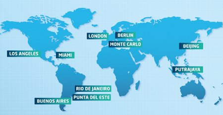 FIA Formel E Kalender 2014/2015