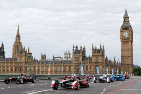 Formel E Demo-Run London