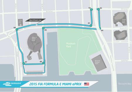 Formel E ePrix Miami/USA 2015