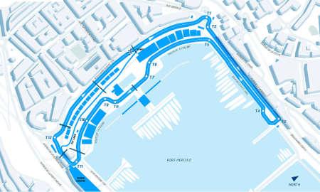 Formel E Monaco Layout