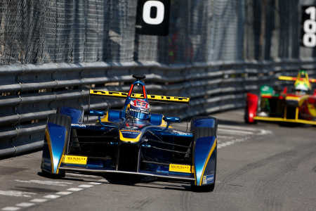 Formel E ePrix Monaco Sébastien Buemi e.dams Renault